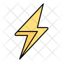 Thunder Lightning Bolt Icon