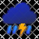 Thunderstorm Lightning Thunder Icon
