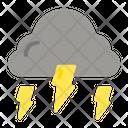 Thunderstorm Lighting Weather Icon