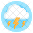 Thunderstorm Cloud Storm Weather Icon