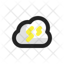Thunderstorm Cloud Storm Icon