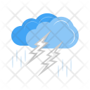 Thunderstorm Cloud Icon
