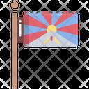 Tibetan Flag Icon