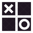 Tic Tac Toe X O Square Icon