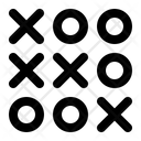 Tic Tac Toe Entertainment Game Icon