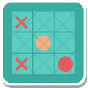 Tic Tac Toe Noughts Crosses Icon