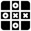 Tic Tac Toe Game Play Icon