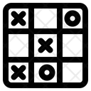 Tic Tac Toe Actor Mobile Game Icon