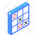 Tic Tac Toe Noughts Crosses Mind Game Icon