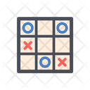 Tic Tac Toe Tic Tac Toe Game Circle Cross Game Icon