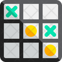Game Toy Tic Tac Toe Icon