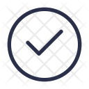 Tick Approve Checked Icon
