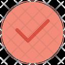 Tick Right Mark Icon