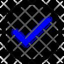 Tick Check Mark Circle Icon