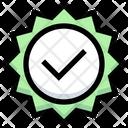 Tick Check Label Icon