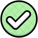 Tick Complete Right Icon
