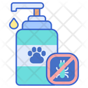 Tick Prevention Shampoo Bottle Shampoo Icon