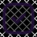 Tick Square Icon