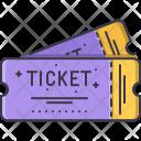 Ticket Film Cinema Icon