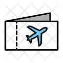 Ticket Airplane Ticket Traveling Ticket Icon
