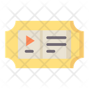 Ticket Movie Ticket Cinema Ticket Icon