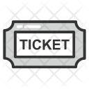 Ticket Voucher Token Icon