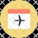 Ticket Pass Plane Icon