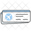 Ticket Flight Ticket Aeroplane Icon