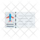 Ticket Flight Tour Icon