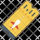 Ticket Travel Tickets Airplane Tickets Icon