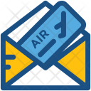 Air Ticket Plane Icon