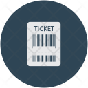 Ticket Scan Air Icon