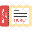 Air Ticket Traveling Icon
