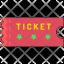 Ticket Cinema Fare Icon