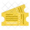 Ticket Entry Pass Icon