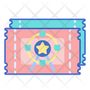 Ticket Entery Pass Event Pass Icon