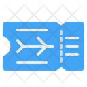 Boarding Pass Traveling Transportation Icon