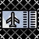 Ticket Tourist Airport Icon