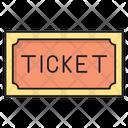 Ticket Riffle Cinema Icon