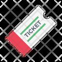 Ticket Riffle Travel Icon