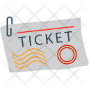 Ticket Plane Air Icon