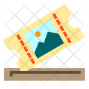 Ticket Travel Holidays Icon