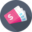 Ticket Dollar Pass Icon