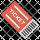Ticket Permit Pass Icon