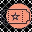 Ticket Movie Entry Icon