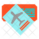 Ticket Boarding Pass Icon