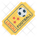 Ticket Event Football Icon