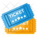 Ticket Pass Voucher Icon