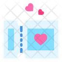 Ticket Love Pass Icon