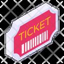 Ticket Voucher Pass Icon